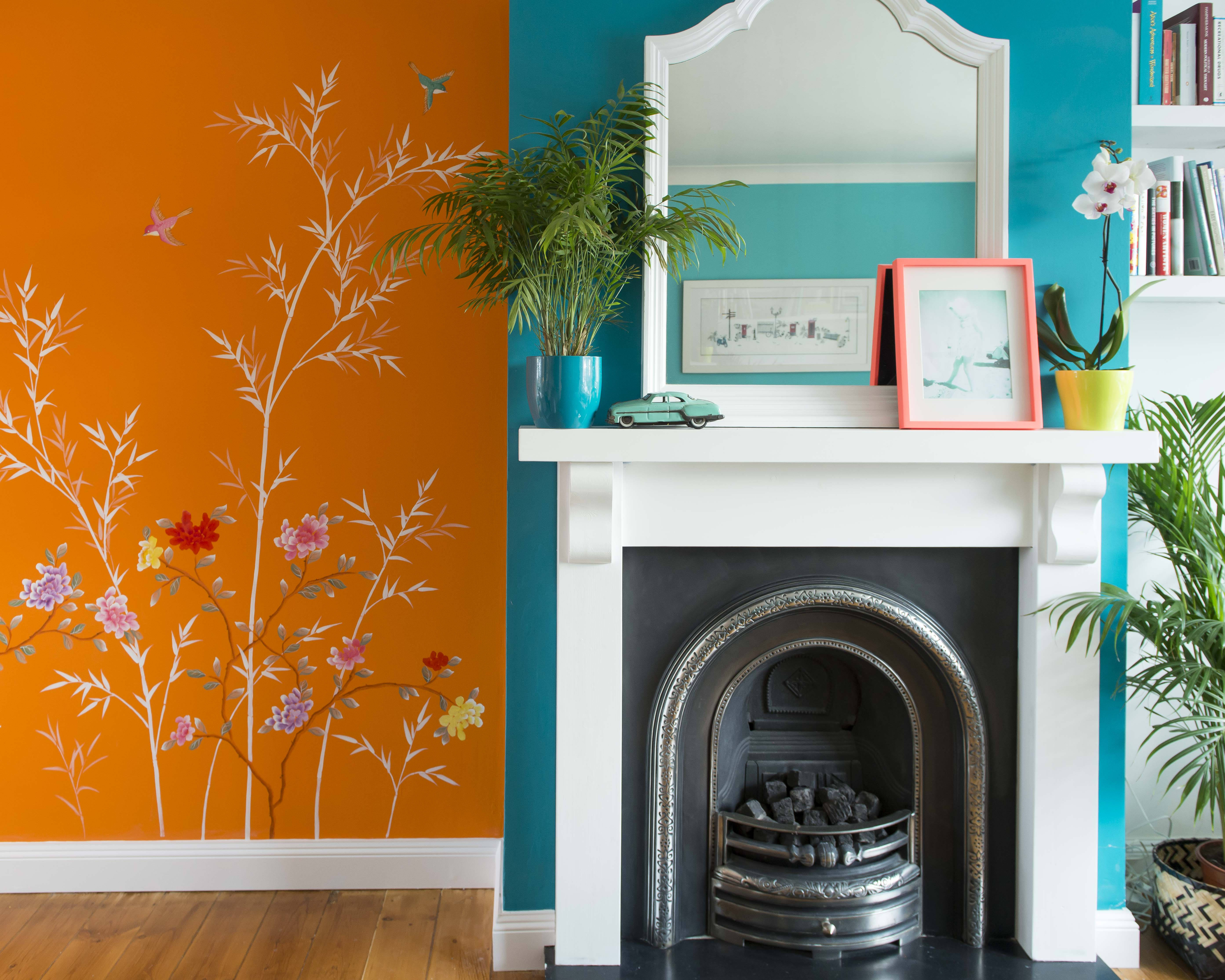 tips using colour in home