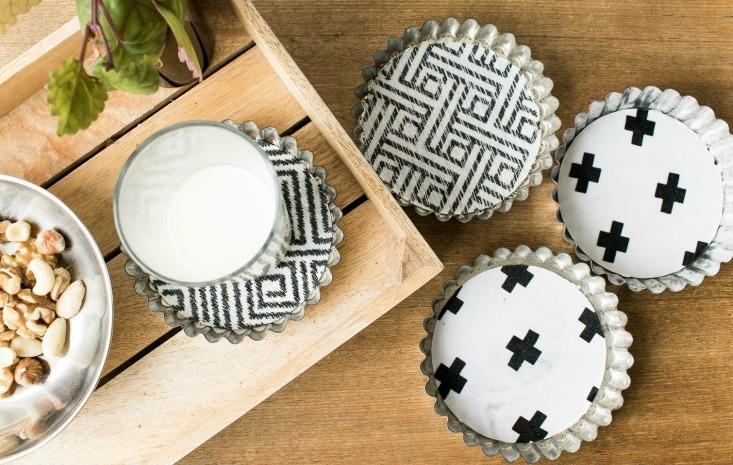 how to make your own coasters grillo designs www grillo designs com