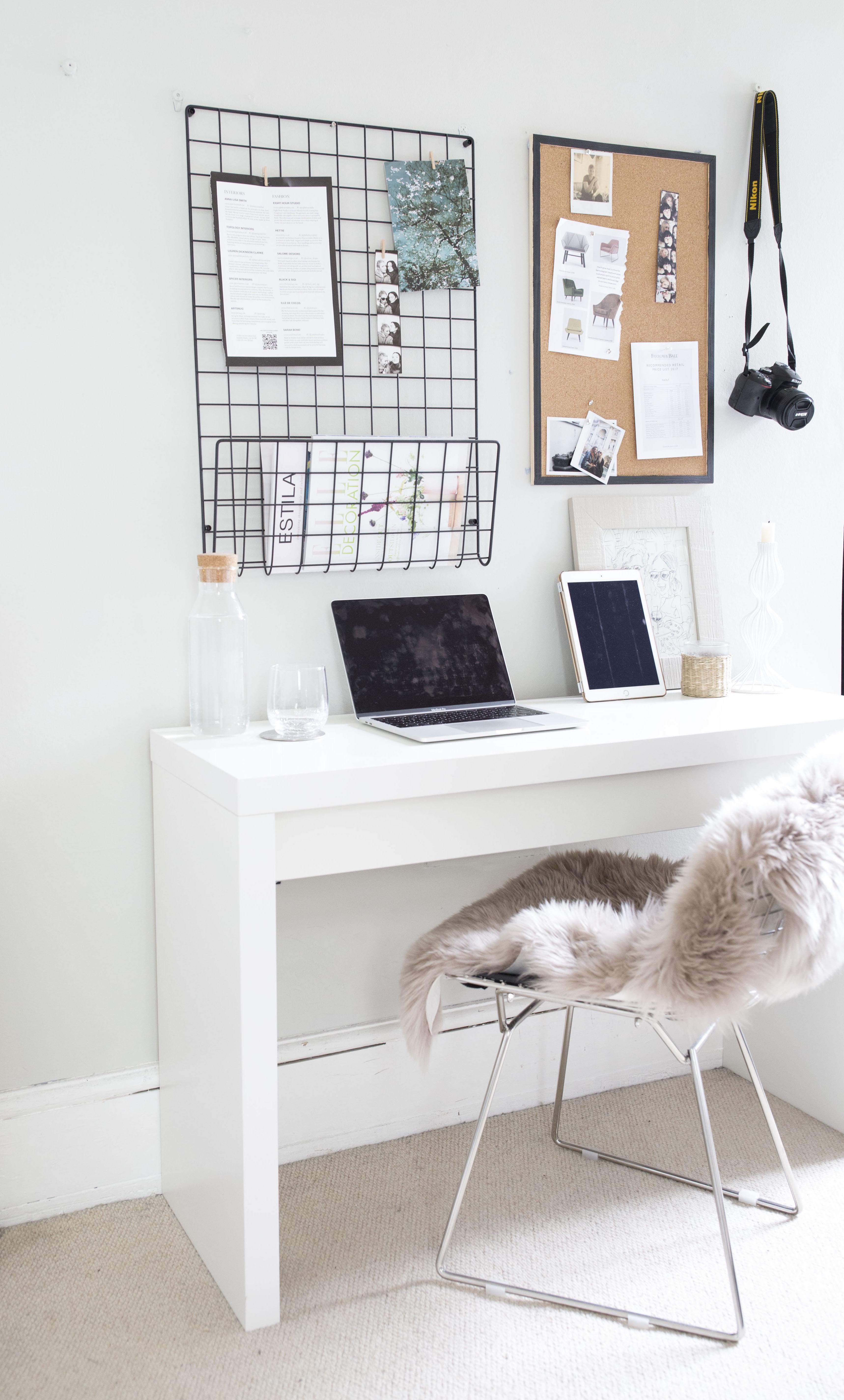 accessorize decor design blackband desk