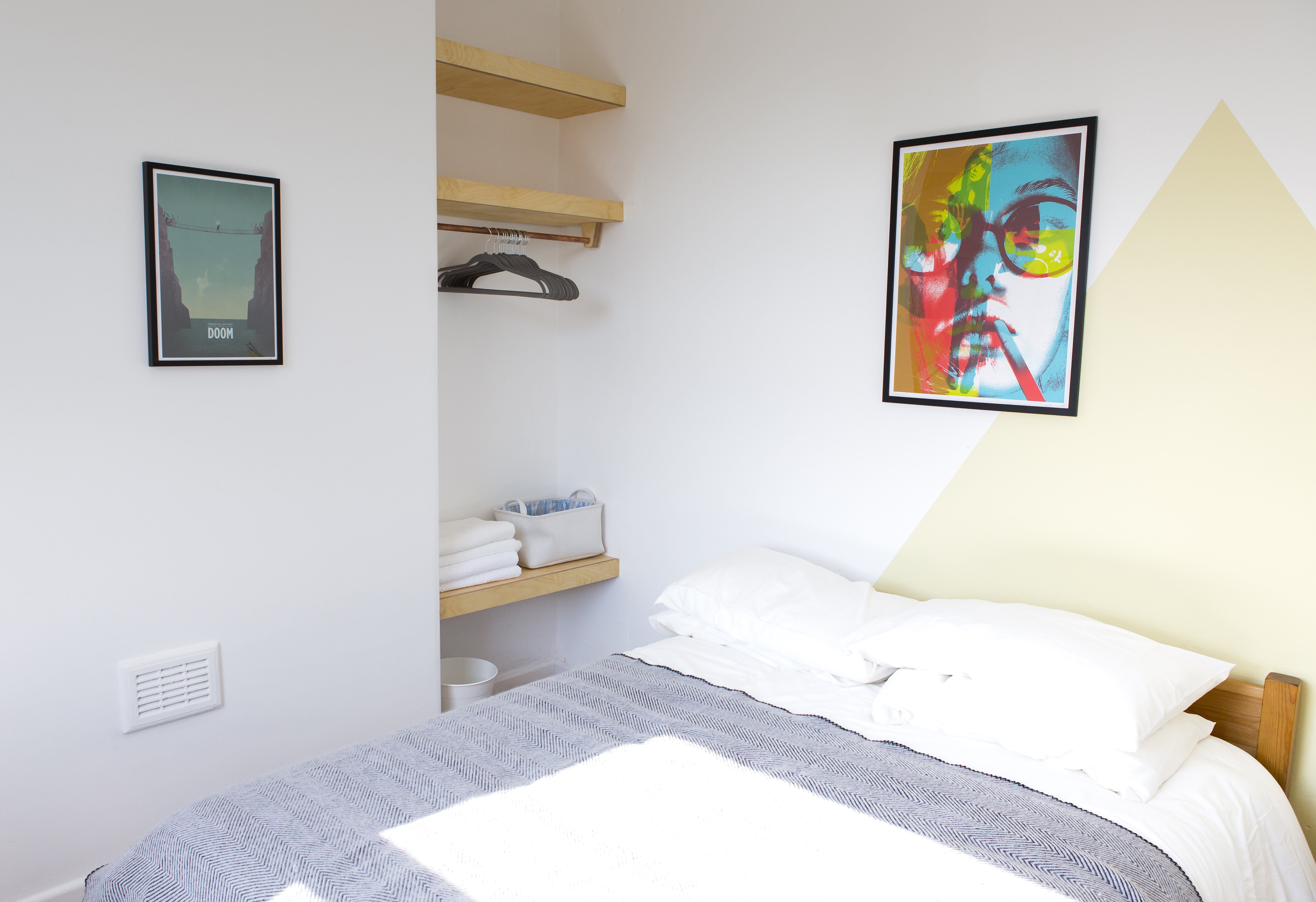 colourful Airbnb