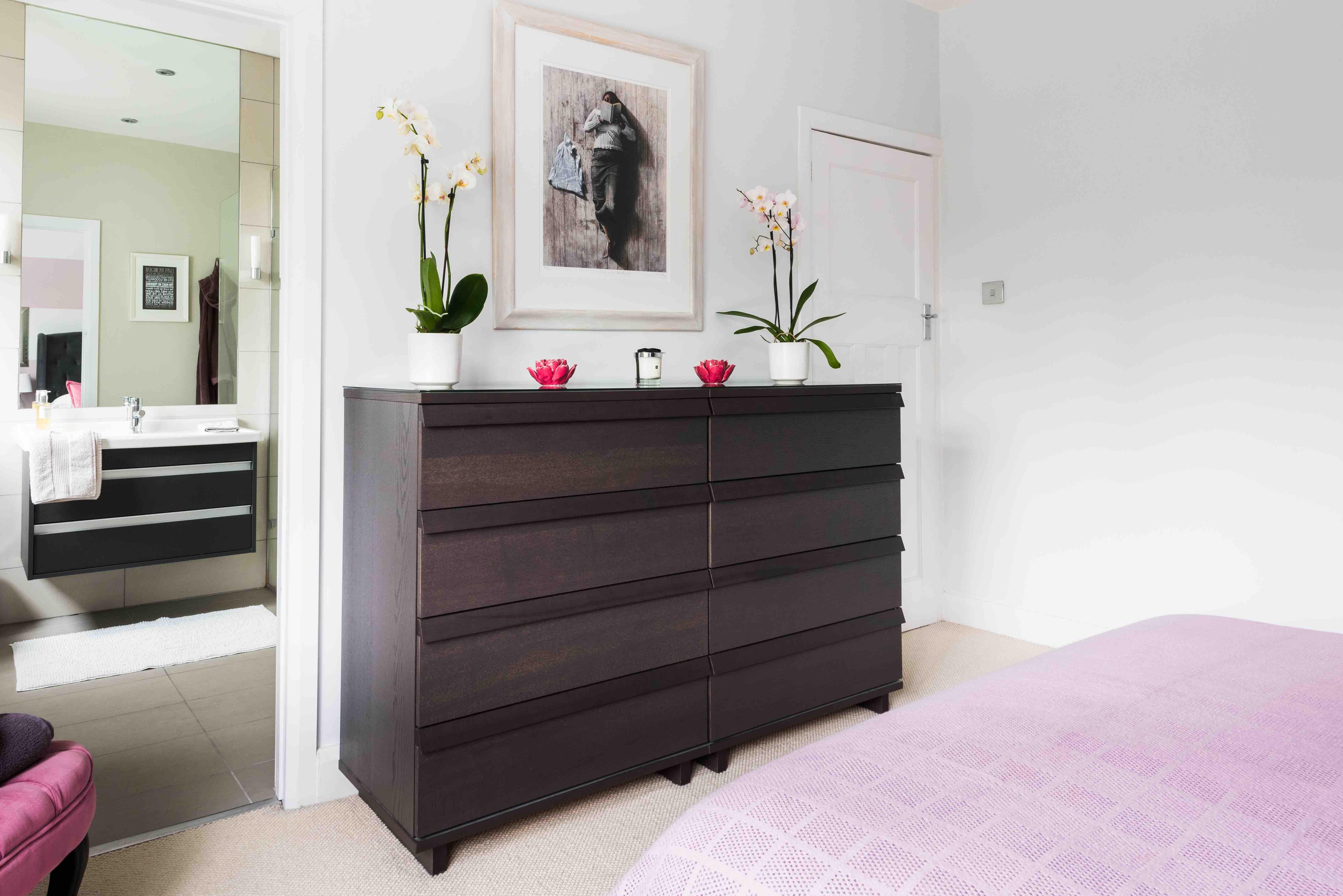 pink bedroom design