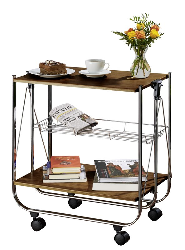 compact drinks trolley from Wayfair