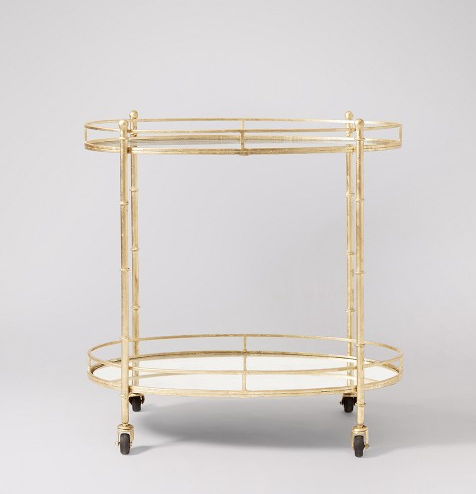 classic gold swoon editions drinks trolley