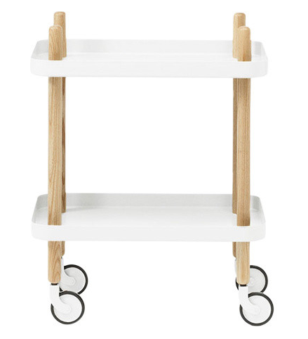 minimalist drinks trolley from Houzz