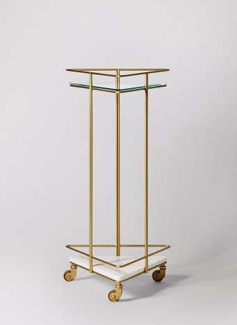 skinny gold swoon editions drinks trolley