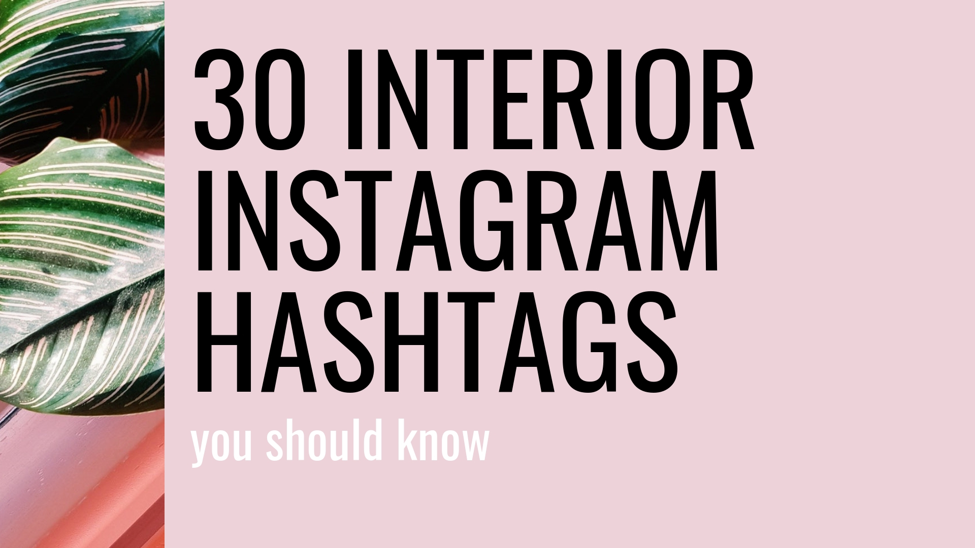 30 Interior Instagram Hashtags You Should Be Using Topology