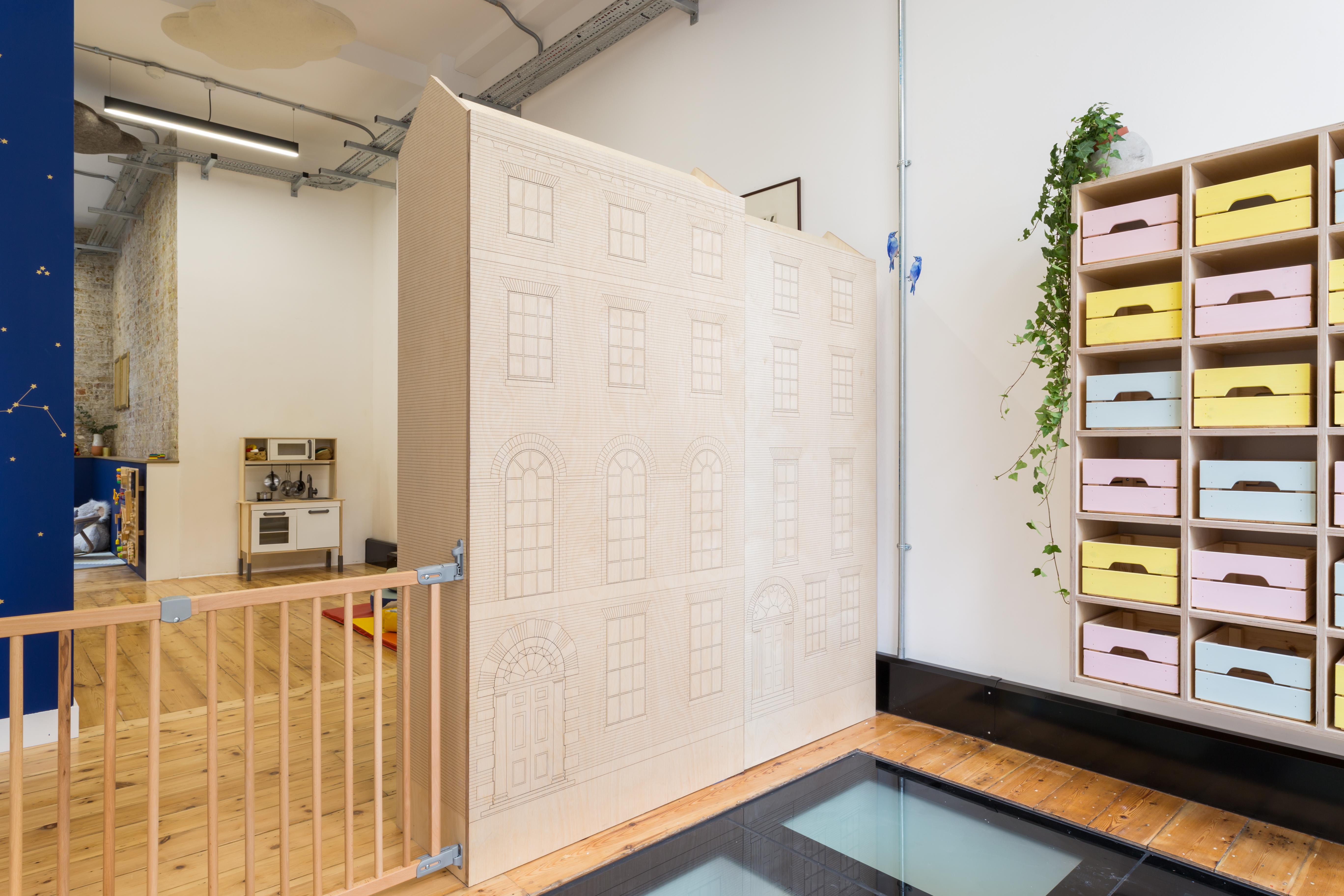 contemporary creche interior