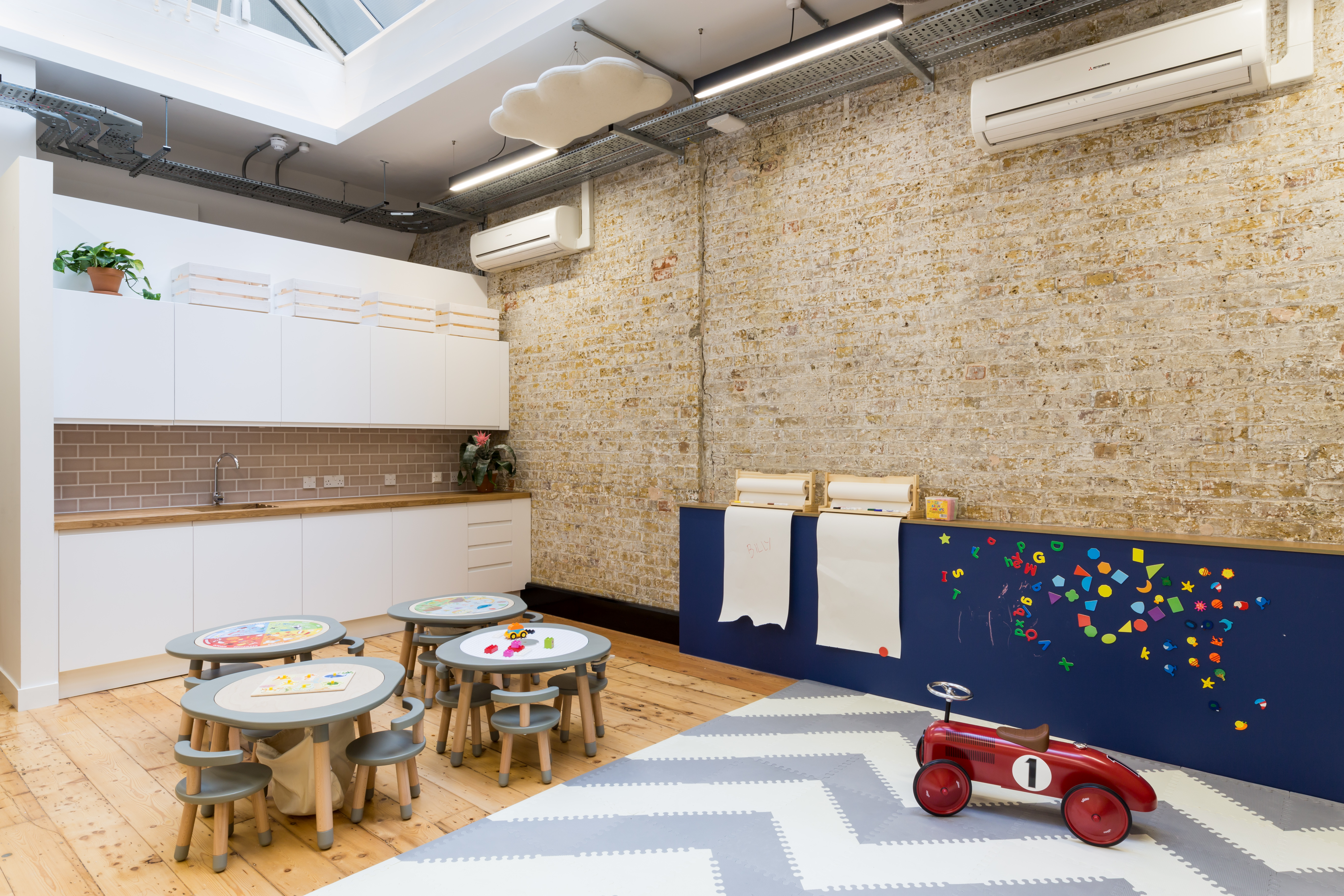 co-working space with creche