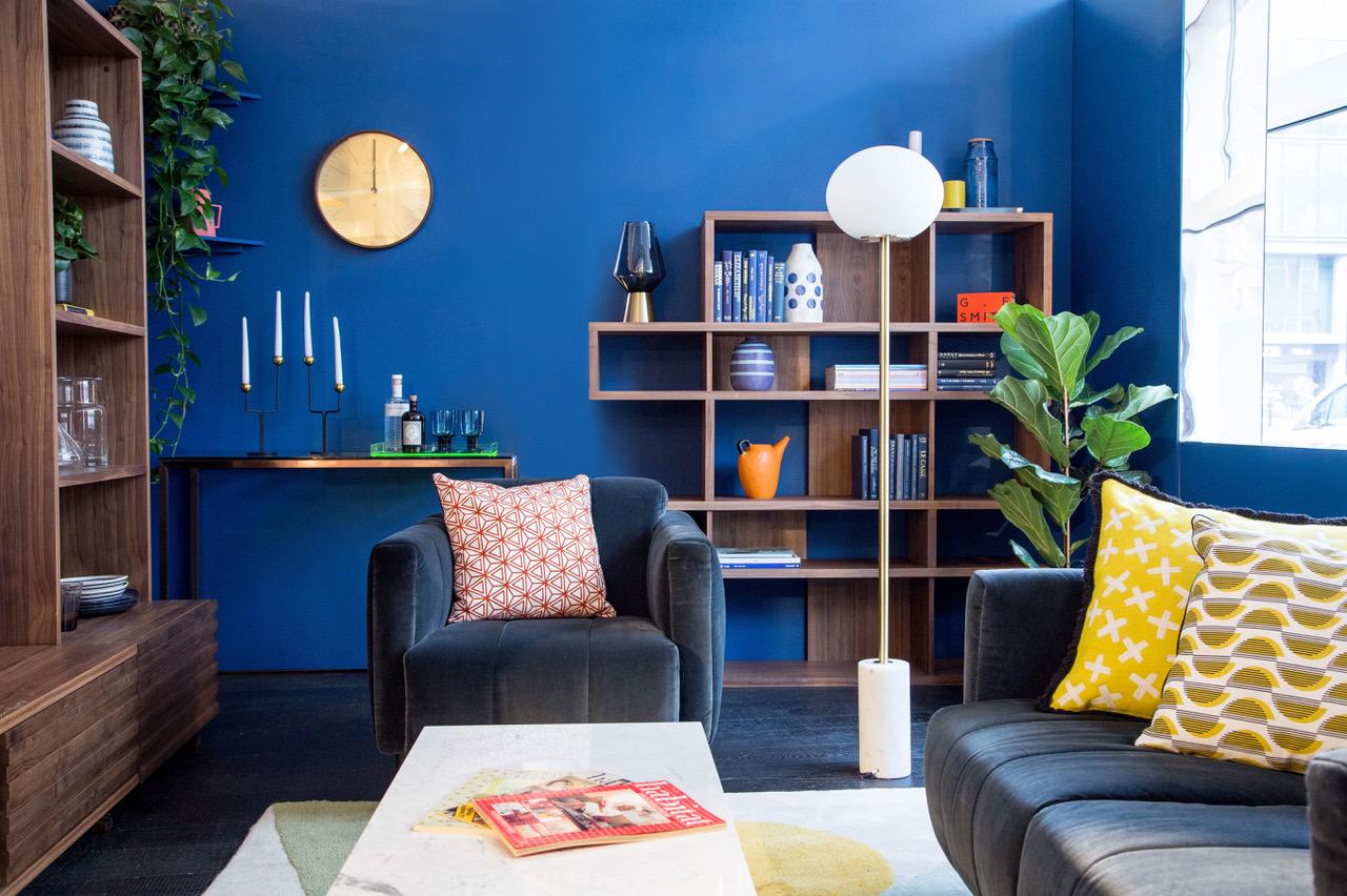 Topology x Habitat blue decor