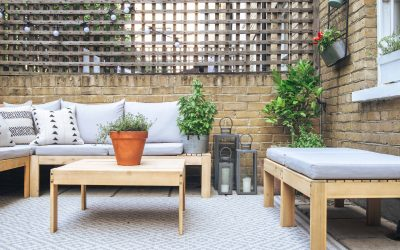 Patio Garden Makeover + Home Cinema Reveal