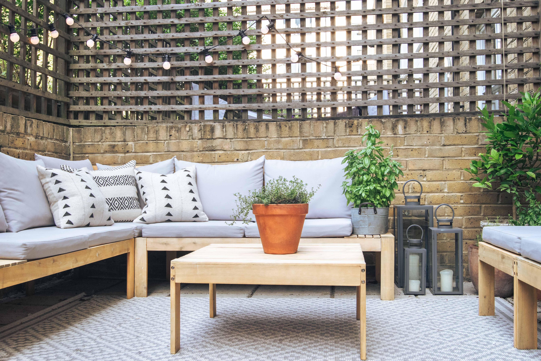 patio garden makeover