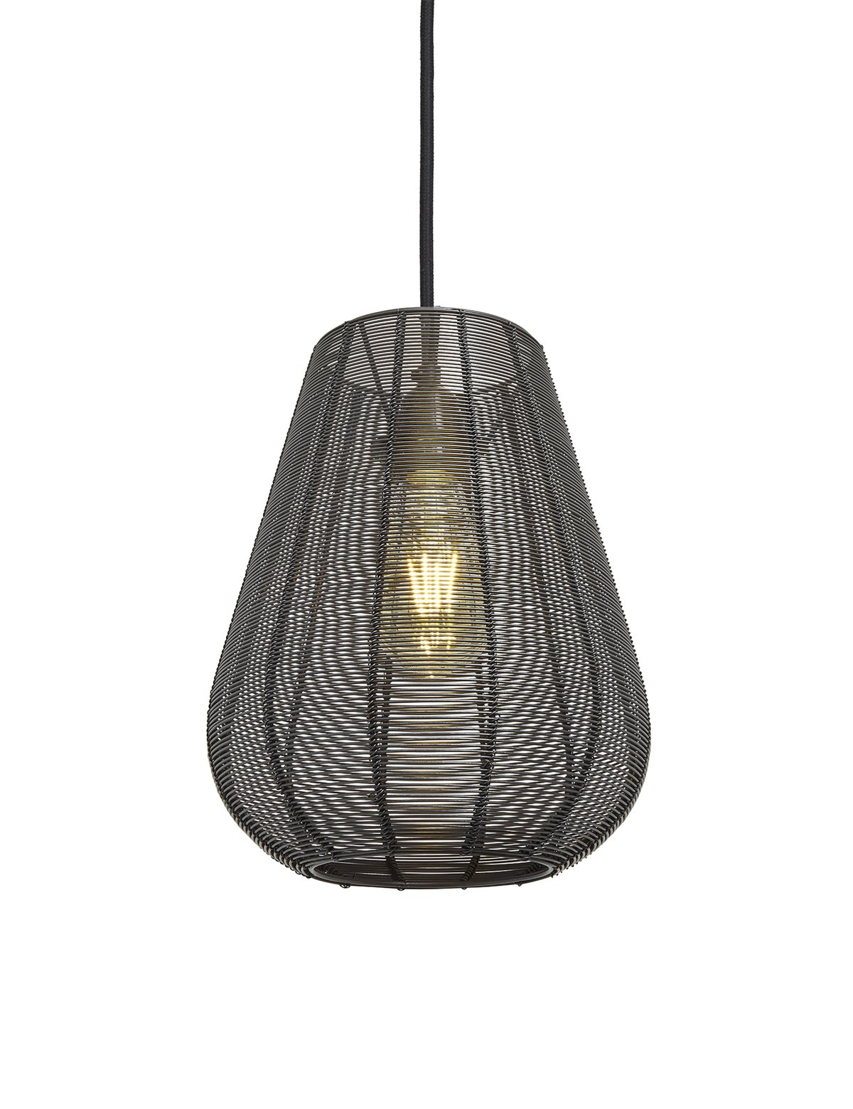 Wire Cage Drop Pendant Light + 10% Off Den & Now | Topology