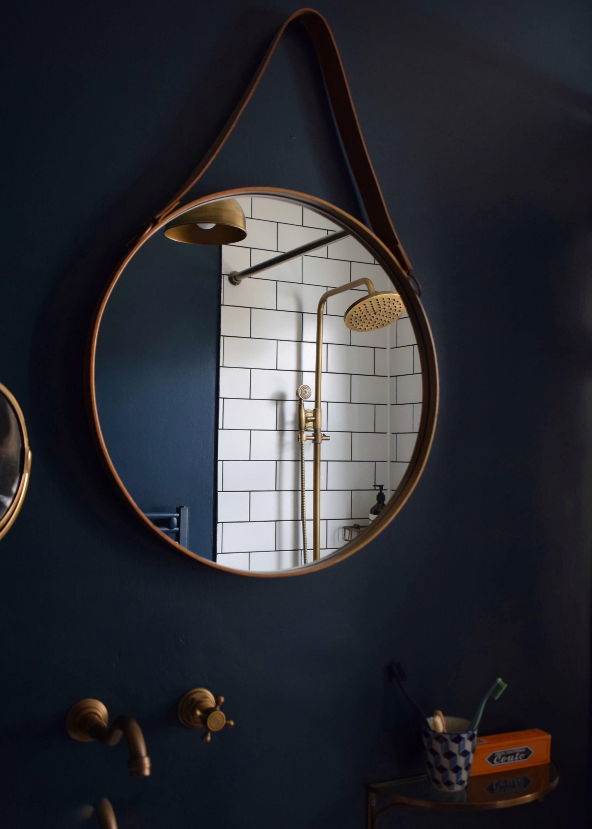 Hague-blue-metro-tiles-brass-fittings-bathroom