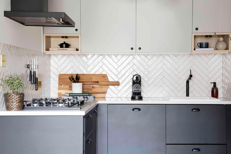 monochrome ikea kitchen (1)