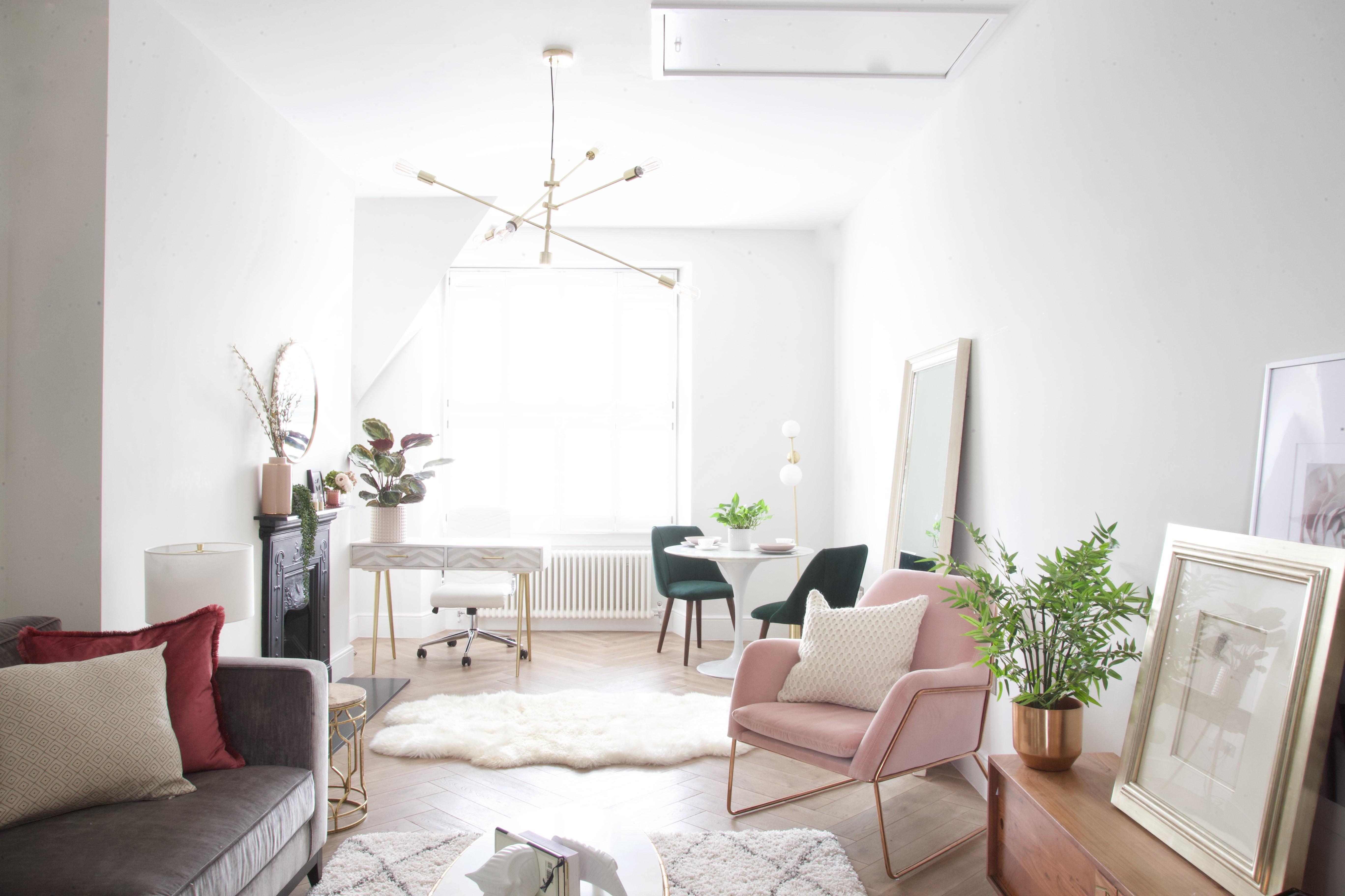 girl living room design