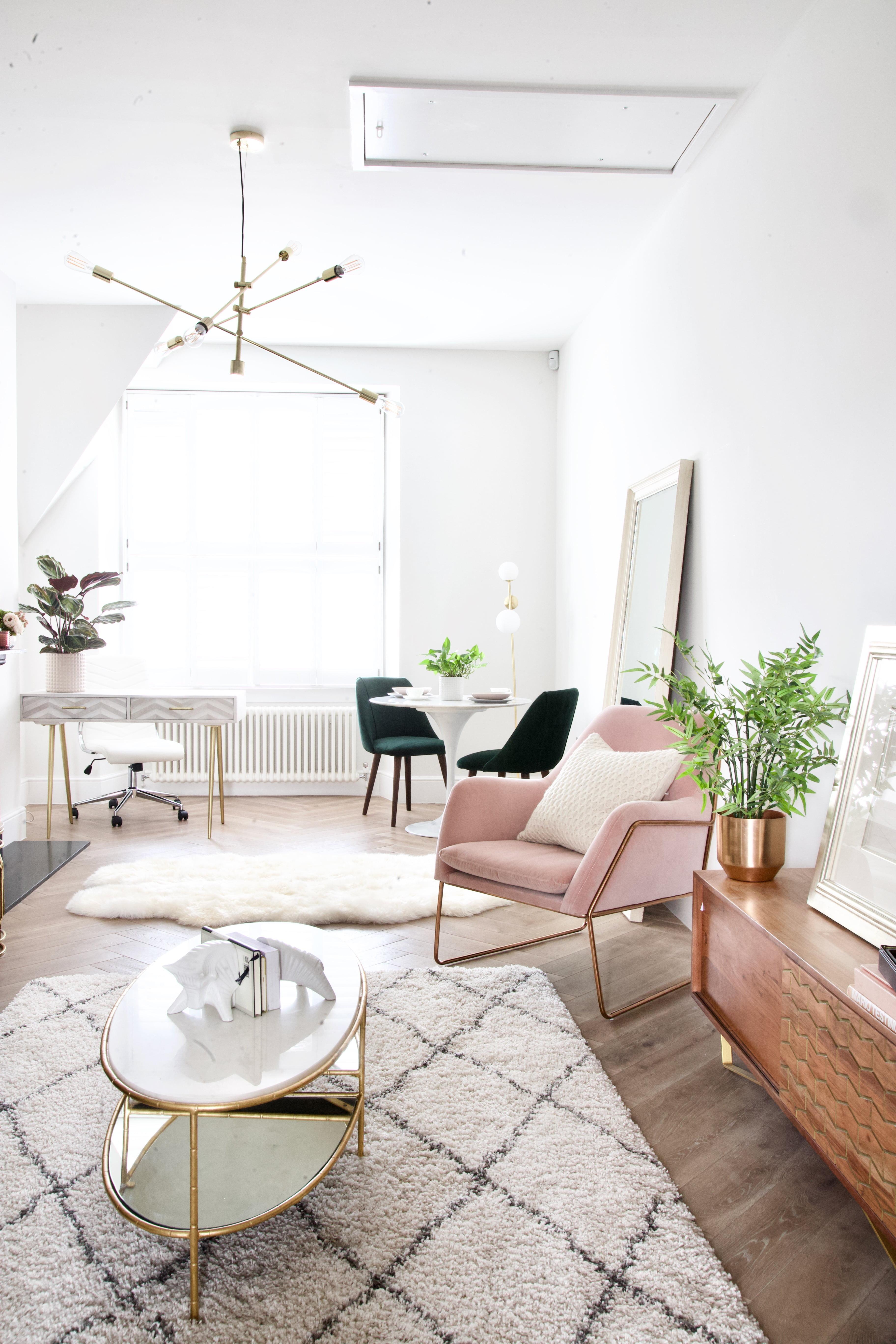 feminne interior style